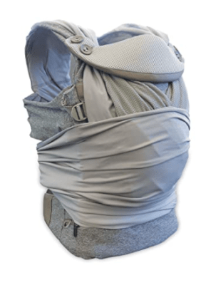 traveling with baby carrier