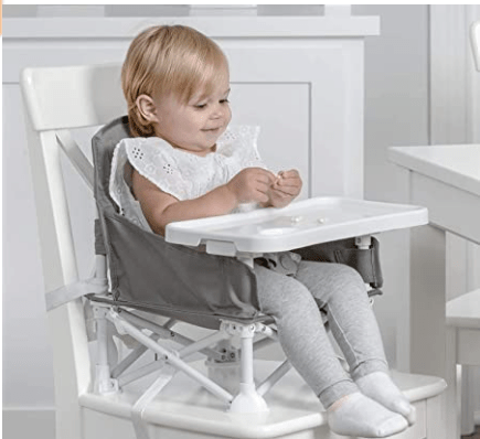 what you need when traveling with a baby travel high chair