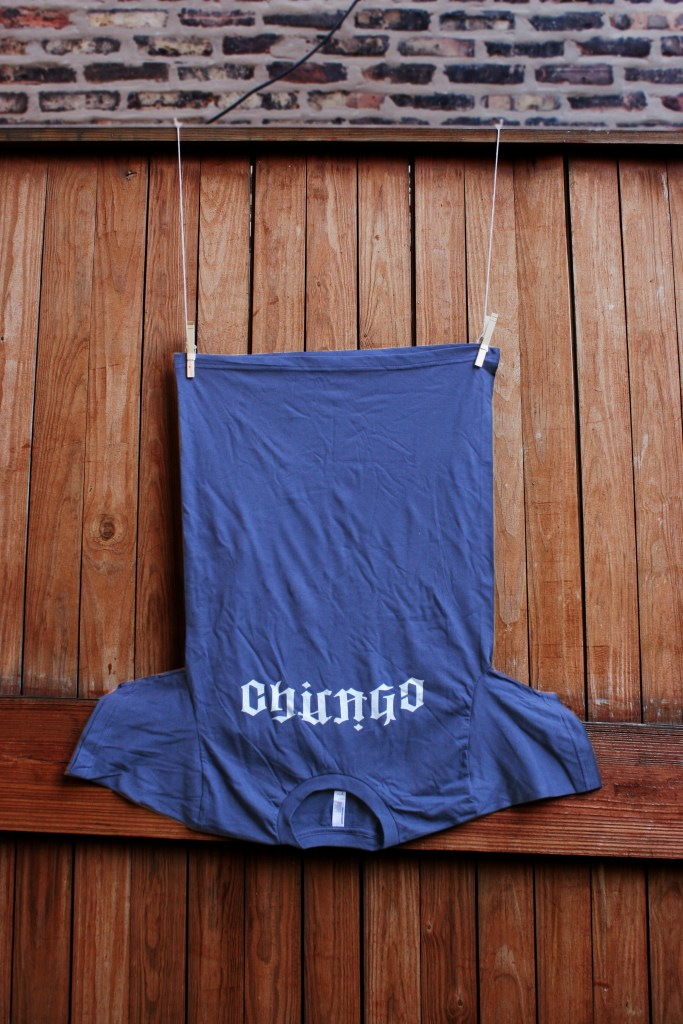 Chicago Ambigram t-shirt (upside down)