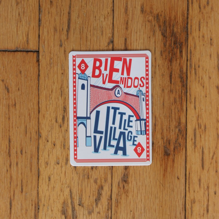 Chicago Playing Card: Little Village Neighborhood