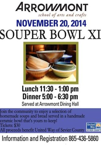 Arrowmont Souper Bowl XI Nov 20