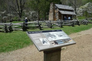 John Oliver Cabin in Cades Cove Great Smoky Mountains National Park