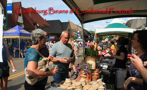 Gatlinburg Beans and Cornbread Festival May 12