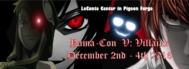Yama-Con 2016 in Pigeon Forge