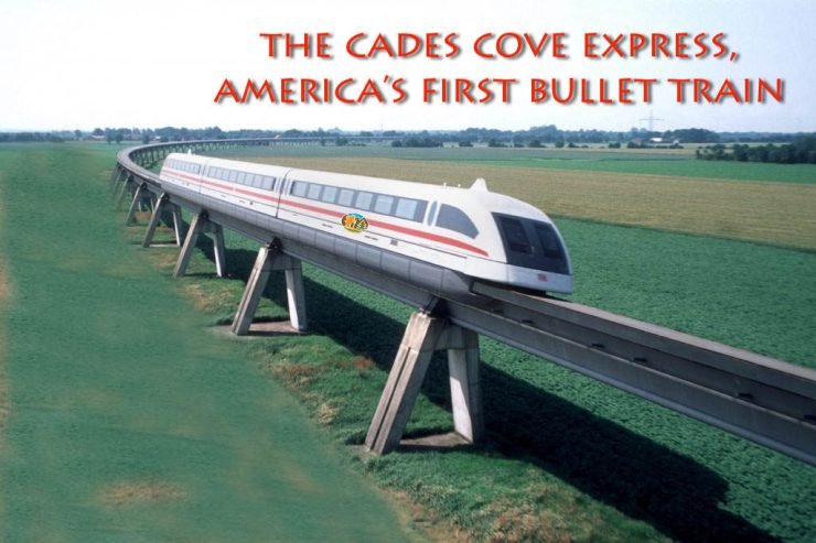 The Cades Cove bullet train is ready to roll!