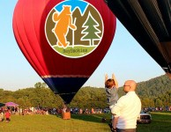 great smoky mountain hot air balloon fest