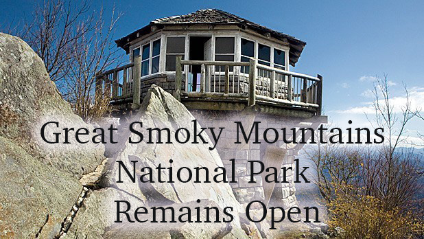 Great Smoky Mountains Remains Open During Government Shutdown.