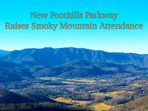 New foothills parkway raises Smoky Mountain attendance.