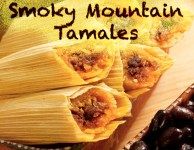 Smoky Mountain Tamale's are yummy in my tummy!