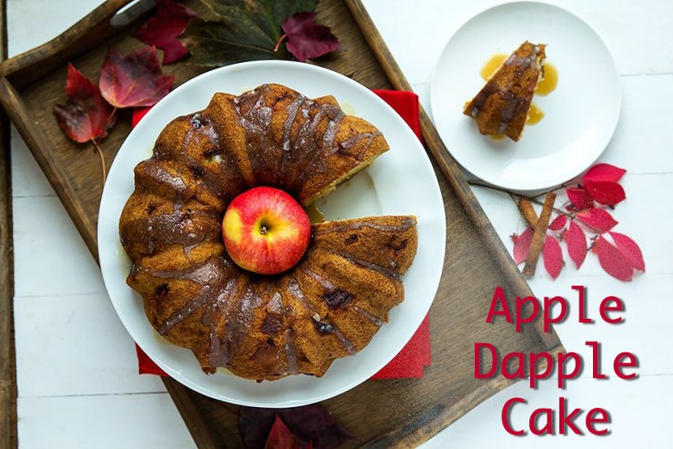 Apple Dapple Cake is the perfect treat during the fall apple harvest!