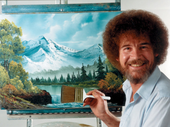 Bob Ross painting workshops scheduled.