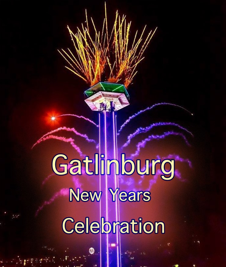 The iconic Gatlinburg Space Needle is the setting for the 2020 New Years Eve celebration!