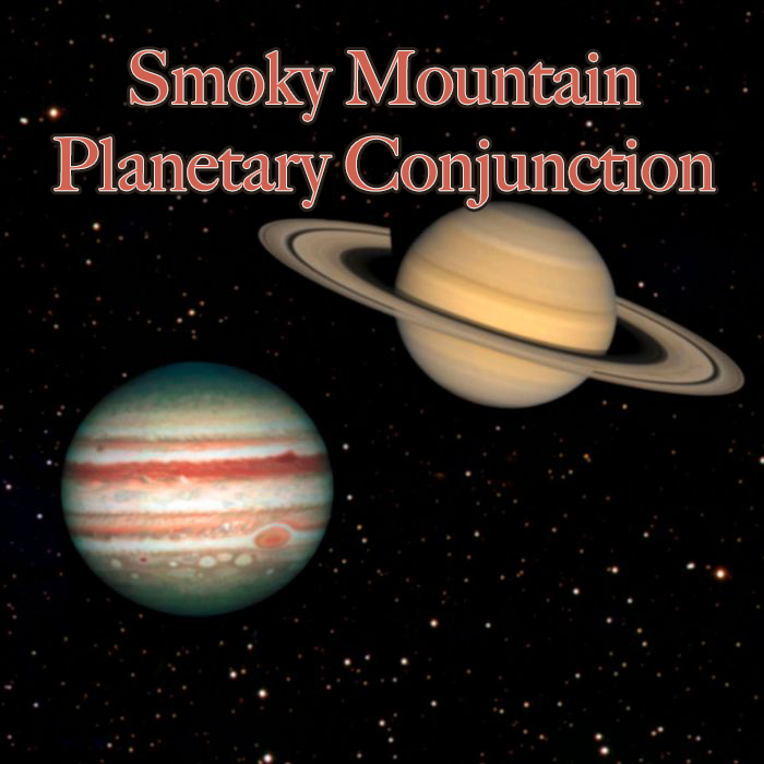 Smoky Mountain planetary conjunction will be a sight to see!