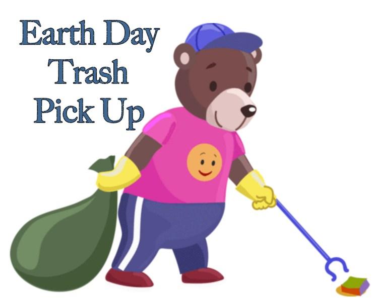 Appalachian Bear Rescue earth day trash pick up.