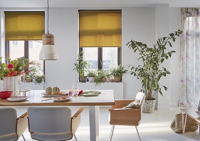 les nouveaux rideaux pour une cuisine