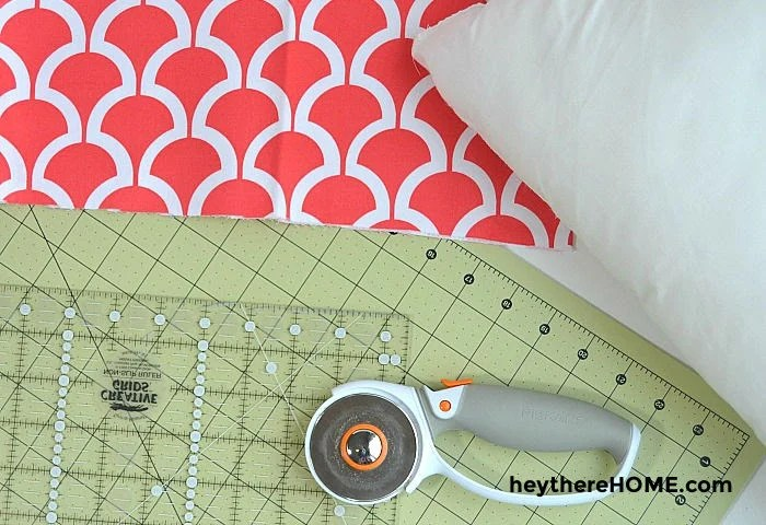 how to make an envelope pillow case
