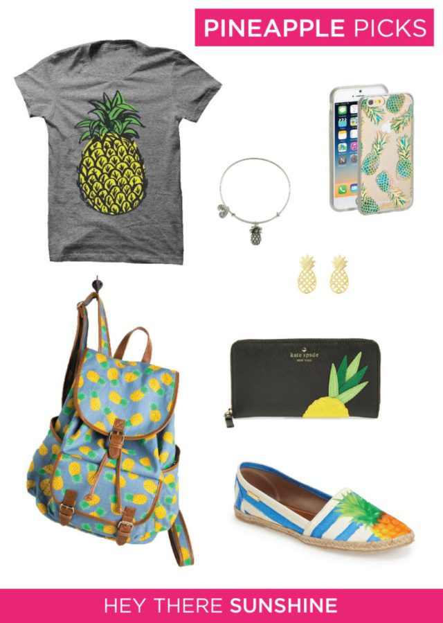 Pineapple Picks by Hey There Sunshine
