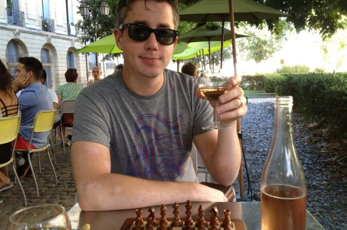France Chess and Rose Wine