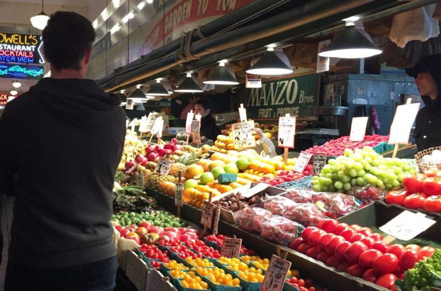 Pike Place Market veggies