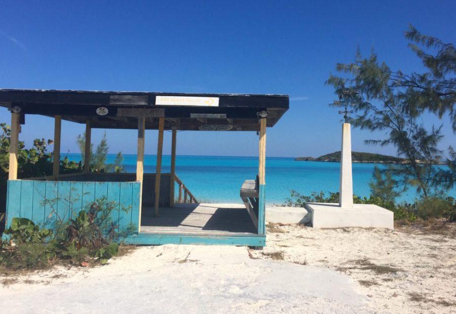 Tropic of Cancer Beach hut entrance