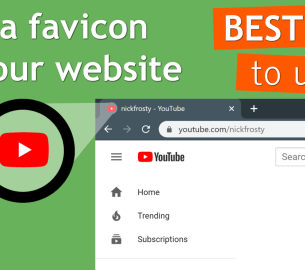 Add a favicon to your Website | best size, best format