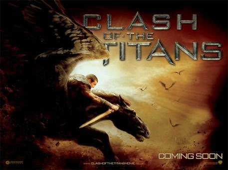 Clash of the Titans Pegasus Poster