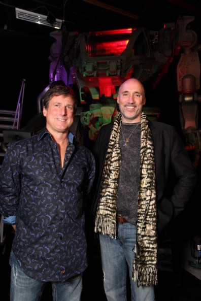 Avatar US Press Day - Neville Page and John Rosengrant