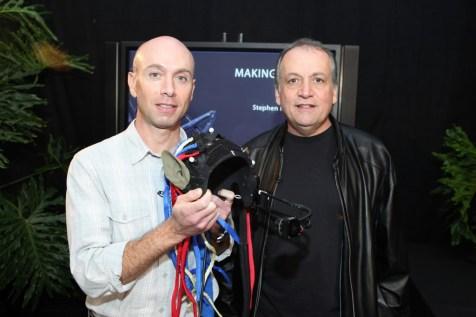 Avatar US Press Day - Joe Letteri and Stephen Rossenbaum