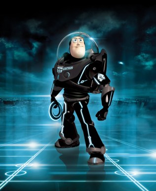 Tron Legacy Fan Art - Buzz Lightyear