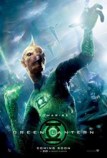Green Lantern UK Poste - Tomar-Re