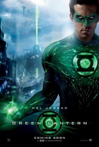 Green Lantern UK Poster - Hal Jordan