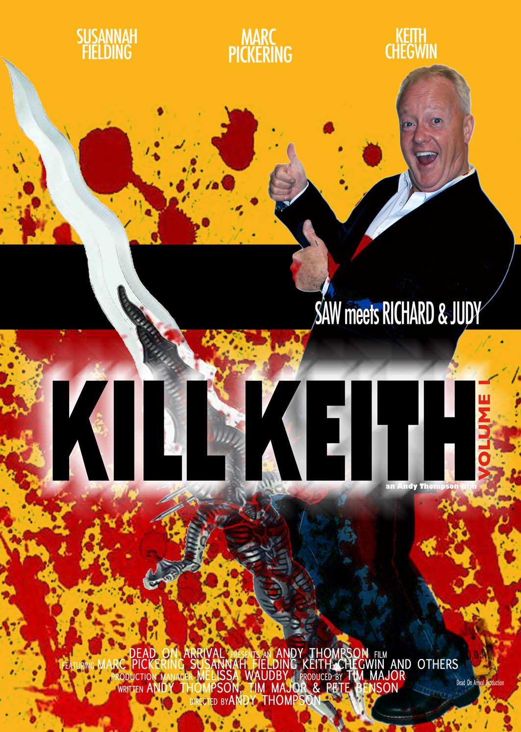 Kill Keith Teaser Trailer - 'Saw Meets Richard and Judy' - HeyUGuys
