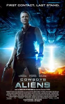Cowboys and Aliens UK Poster - Daniel Craig