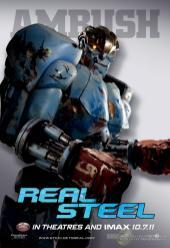 Real Steel Poster - Ambush
