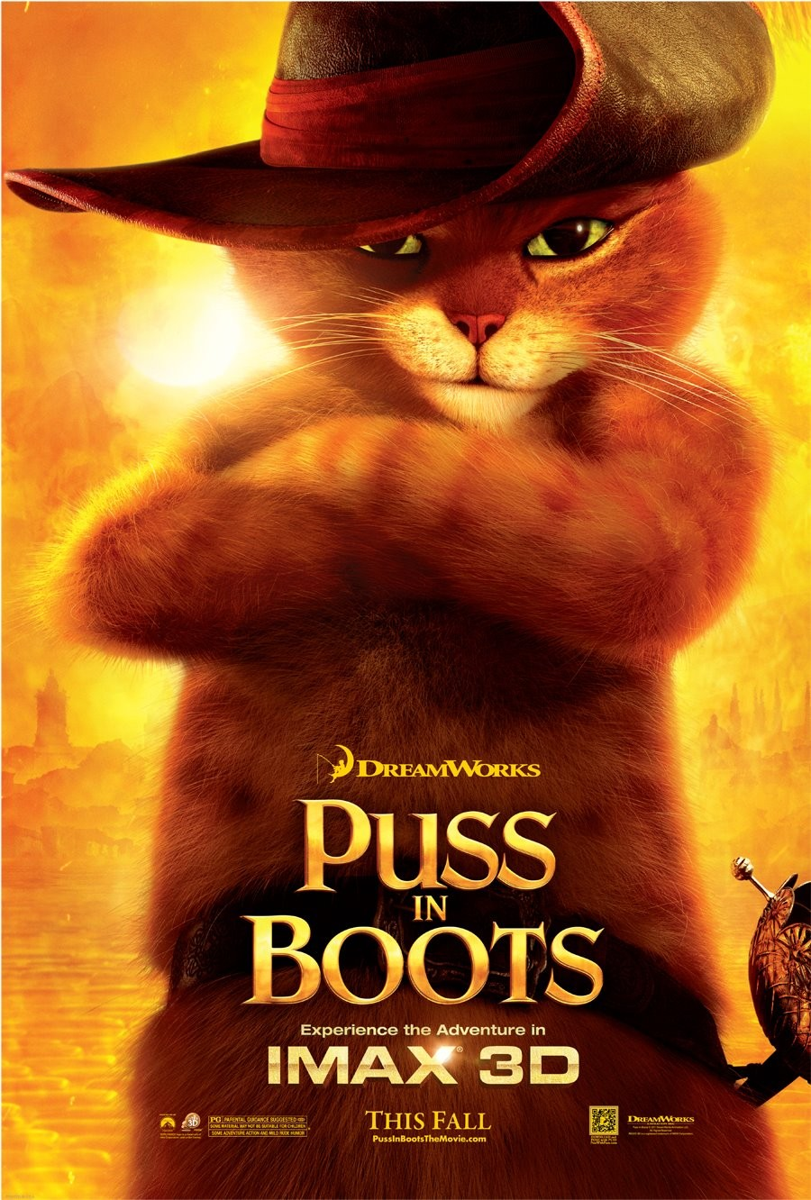 Puss In Boots Continues To Charm In New Poster - HeyUGuys