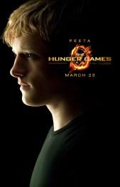 The Hunger Games Poster - Peeta