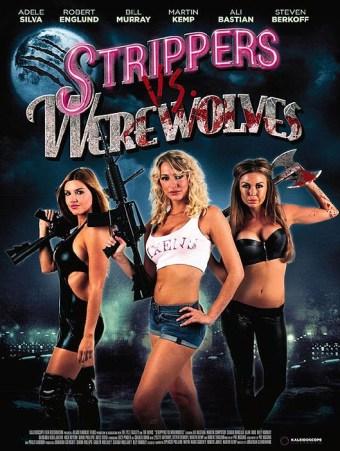 Stripper vs. Werewolves Poster