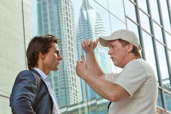 MIssion Impossibe Ghost Protocol brad bird directing tom cruise