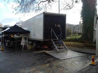 Skyfall Set Photo - London