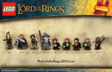 LEGO - Lord of the Rings Characters (Goodies)