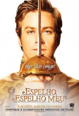Mirror, Mirror Poster - Armie Hammer