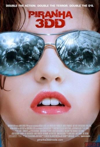 Piranha 3DD Poster Variant 2