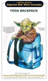 Star Wars Merchandise - Yoda Backpack