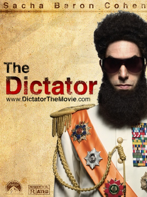 New Us Trailer For Sacha Baron Cohens The Dictator