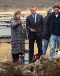 "Daniel Craig On Set Of ""Skyfall"""