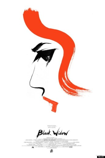 Avengers Mondo Poster Black Widow
