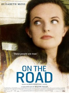 On the Road poster Elisabeth Moss
