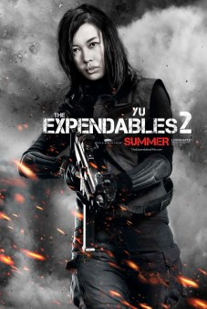The Expendables 2 Poster - Yu Nan