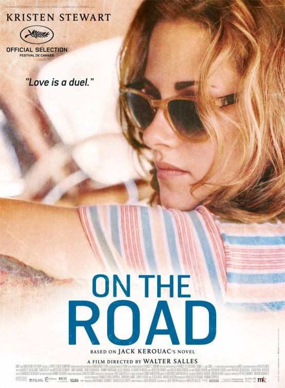Kristen Stewart On the Road Poster