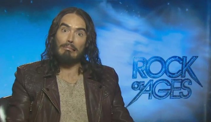 Russell Brand - Rock of Ages Junket